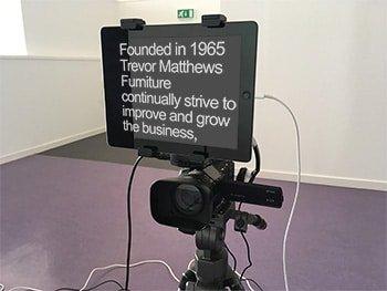 Make more videos - teleprompter