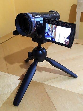 Make more videos - Panasonic articulating screen