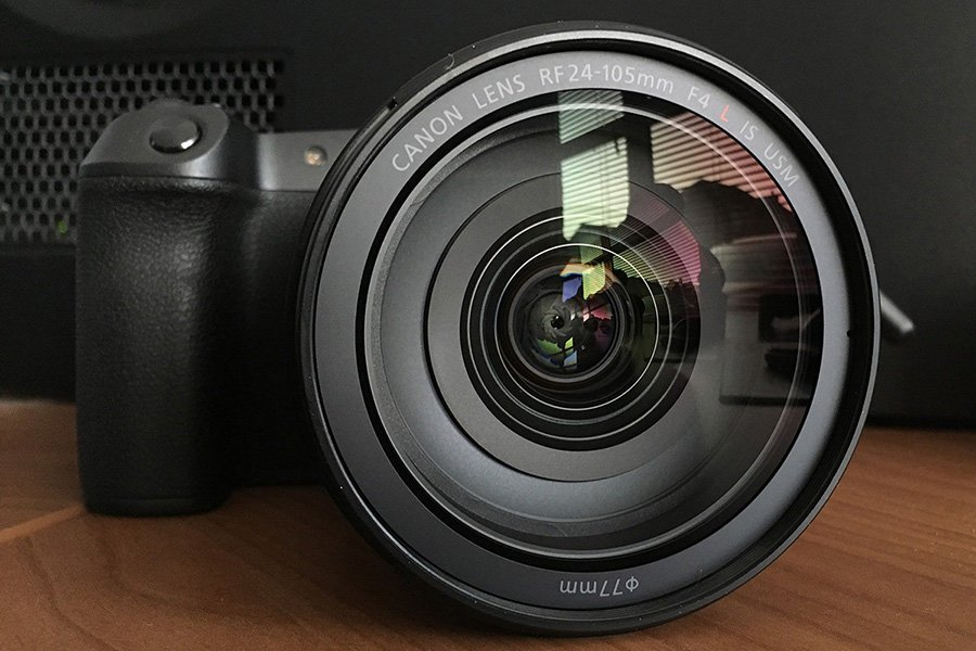 Canon EOS-R with RF 24-105mm f4 lens - Canon EOS R Video Specs All You Need in One Place