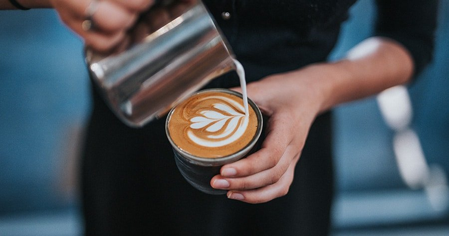 Good Ideas for Youtube Videos - A Simple Guide - An image of a coffee barista representing getting out of the office and into a new environment, like a coffee shop to help you think of good ideas for youtube videos