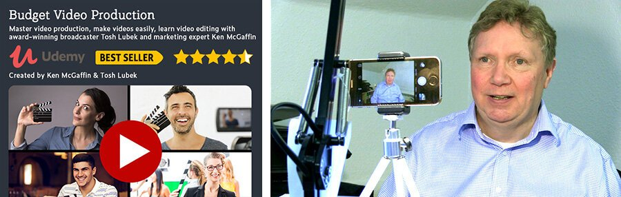 Online course Budget Video Production is available on Udemy.com