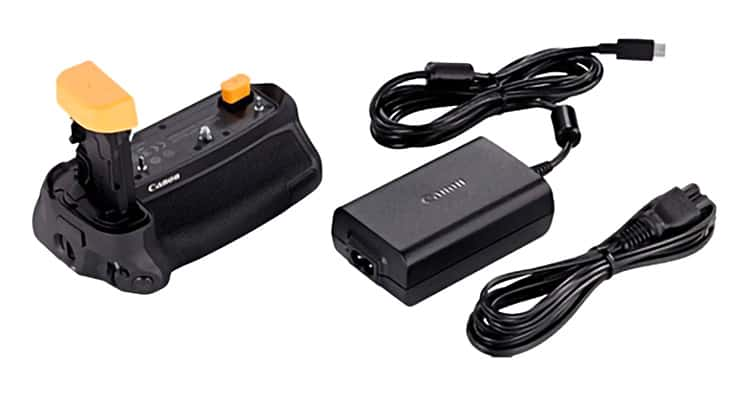 Canon Battery Grip BG-E22 and ISB Power Adapter PD-E1