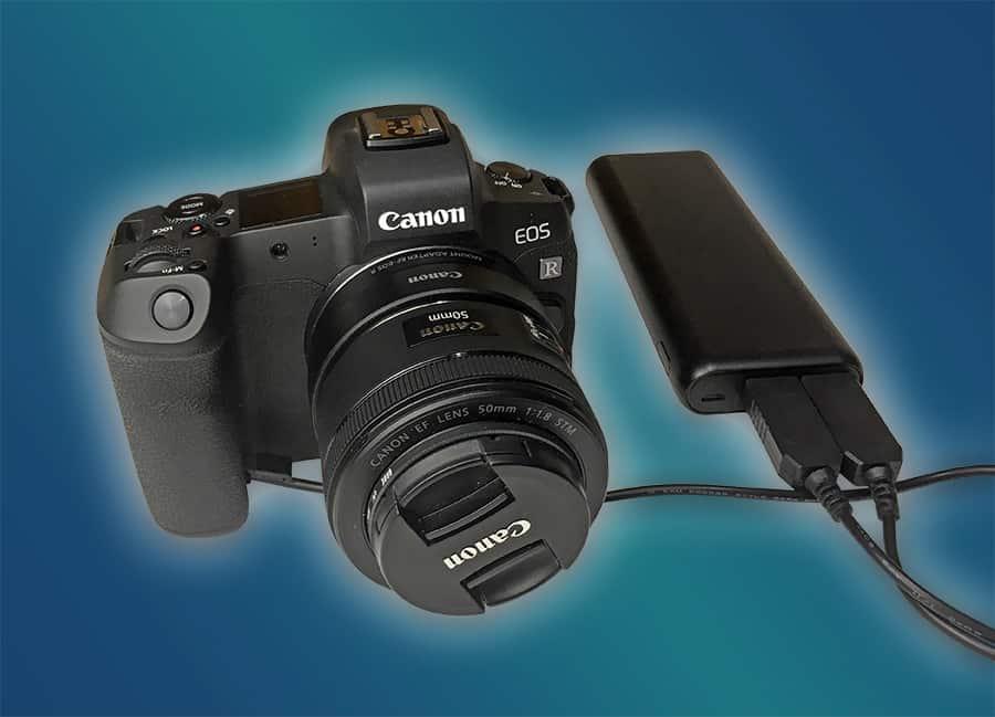 Canon EOS R External Power