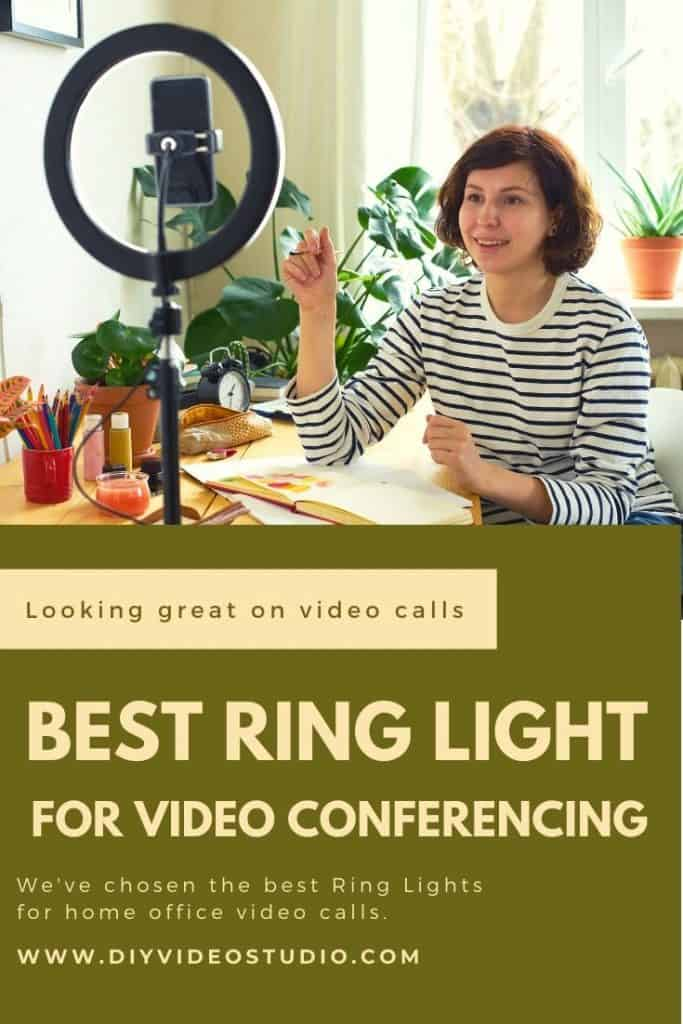 Best Ring Light For Zoom Calls Meetings And Video Conferencing Diy Video Studio