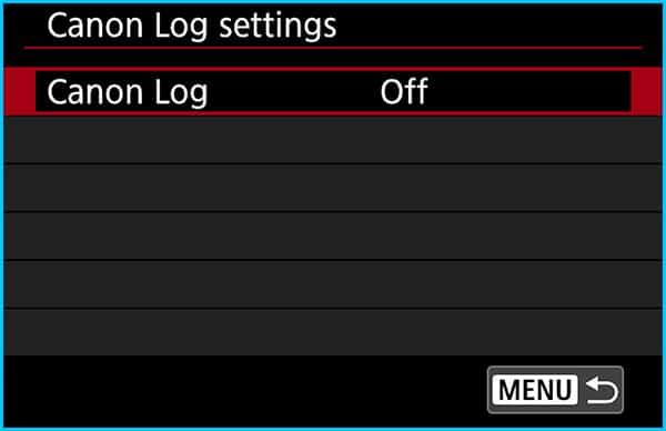 Step 10 – Disable C-Log