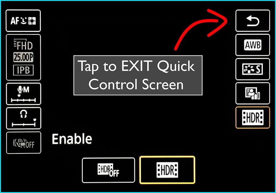 Turn on HDR - Step 4