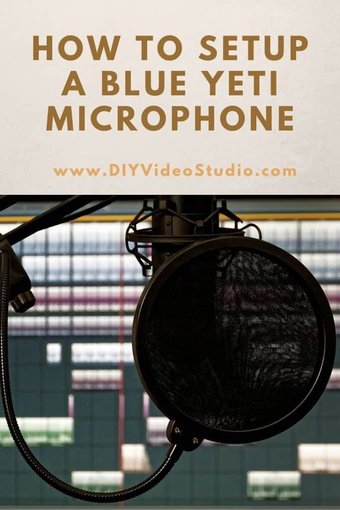How to setup a Blue Yeti microphone for podcasts streaming and Youtube