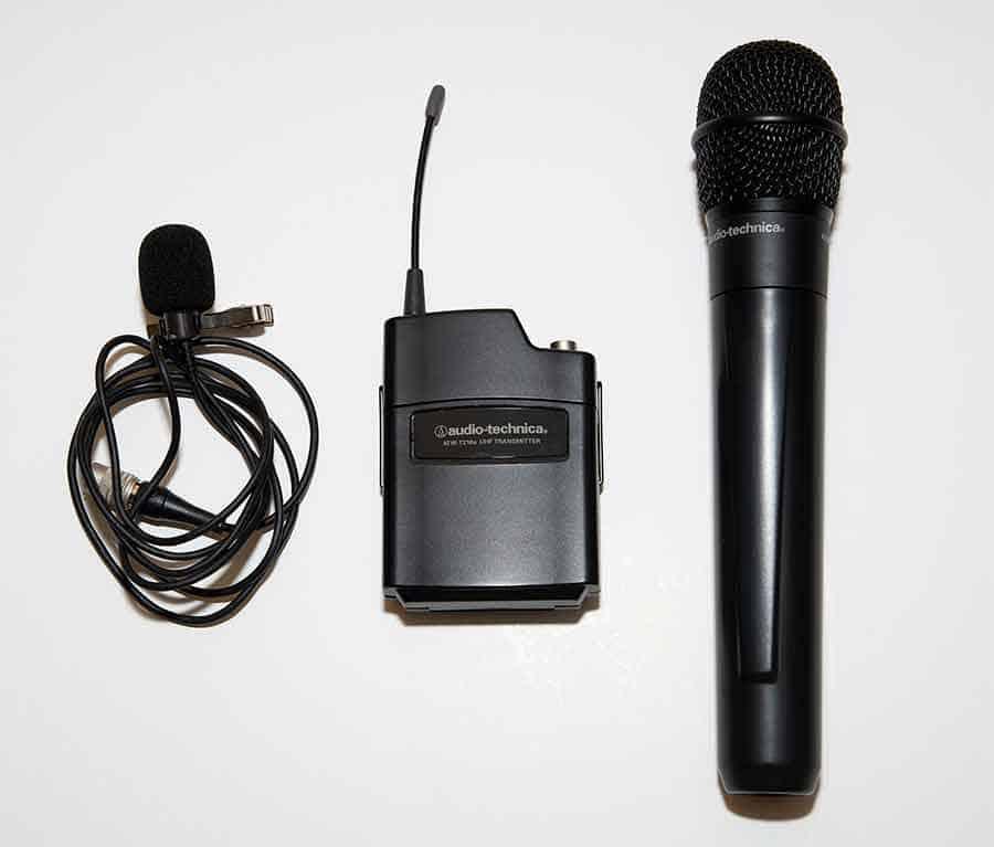 Audio-Technica Mics and Bodypack