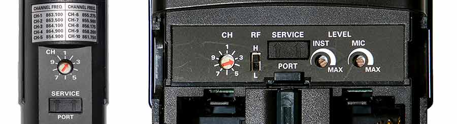 Audio-Technica transmitter tuning