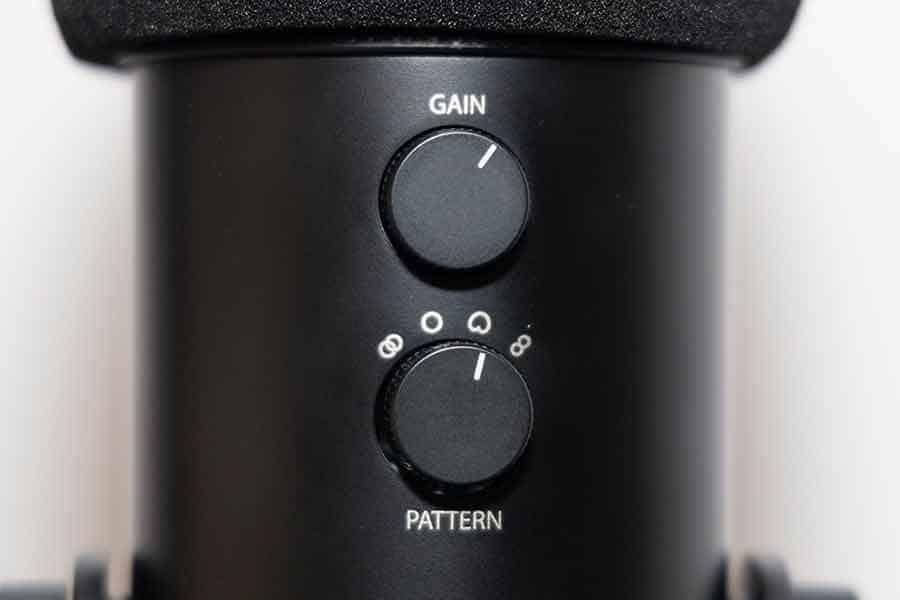 Blue Yeti Pickup pattern knob
