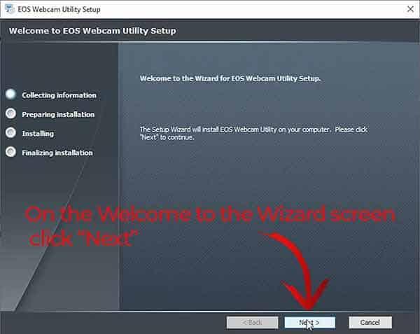 EOS Webcam Utility 1.0 Install 03