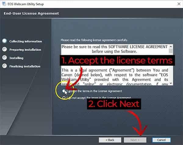 EOS Webcam Utility 1.0 04