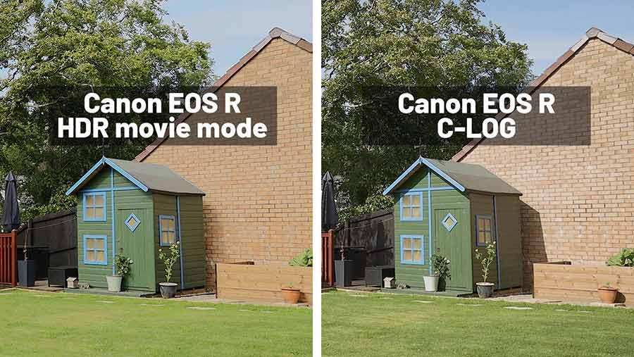 Enable Canon EOS R HDR Movie Shooting Mode