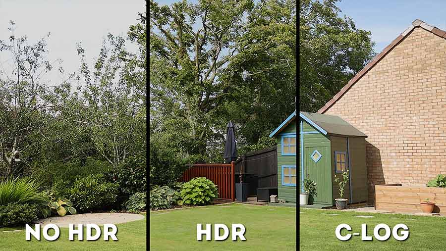 HDR-and-C-Log-comparison