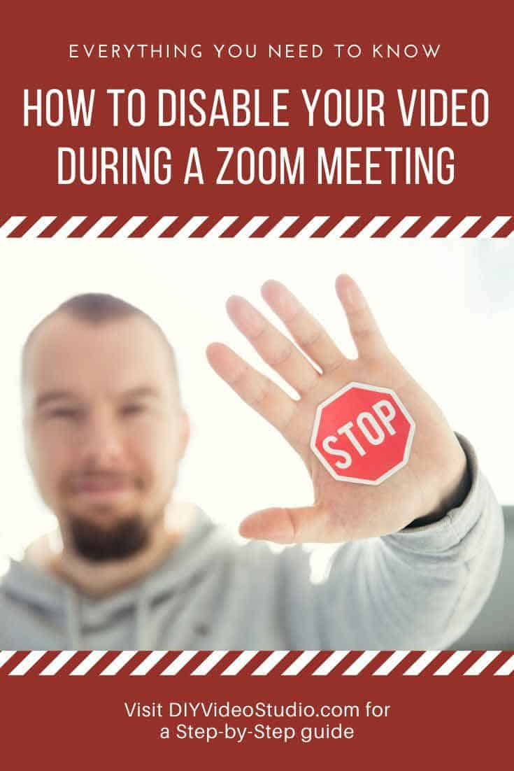 How-do-I-disable-video-camera-on-Zoom-meeting-Pinterest