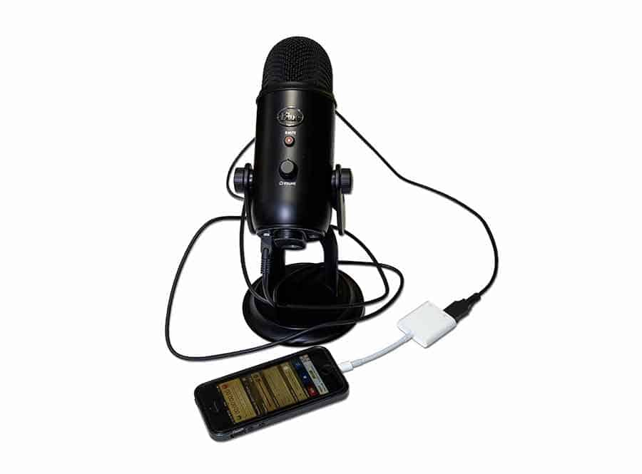 How to connect and use a Blue Yeti to an iPhone or iPad
