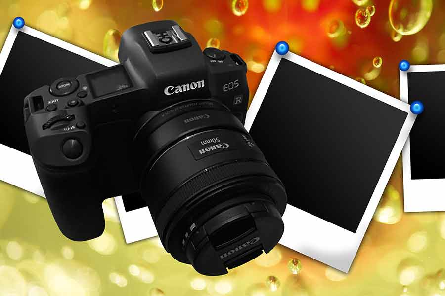 How to stop Canon EOS R mirrorless camera screen turning off