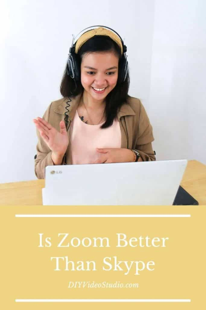 Is Zoom Better Than Skype - Pinterest Graphic