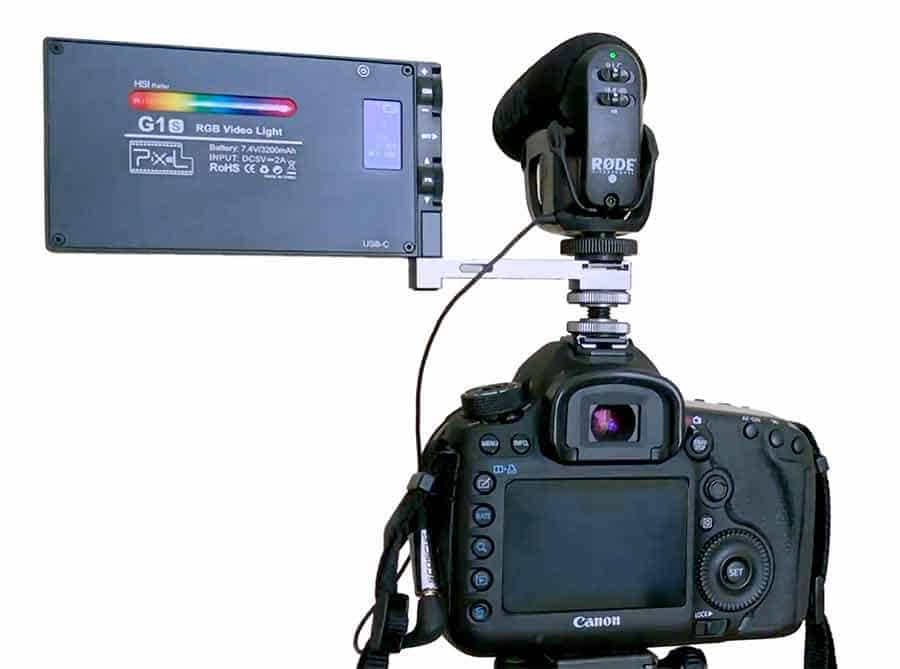 Pixel-G1s-on-DSLR-with-Video-Mic