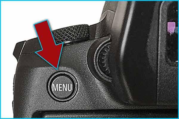 Step-2-Press-the-Menu-button-to-enter-the-EOS-R-menu