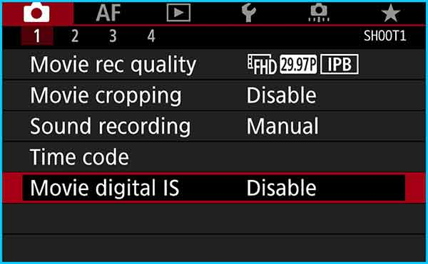 Step 8 - Disable Digital IS