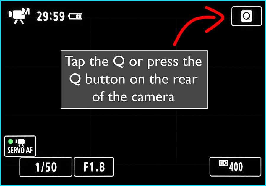 Turn on HDR - Step 1