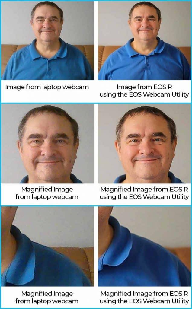 Webcam vs EOS Webcam Utility