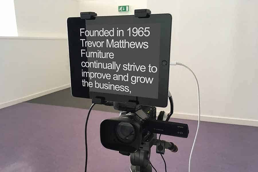 Make more videos - teleprompter