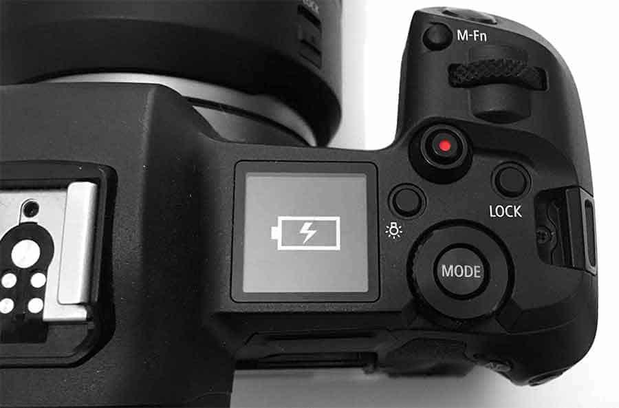 Canon EOS R USB-C charging