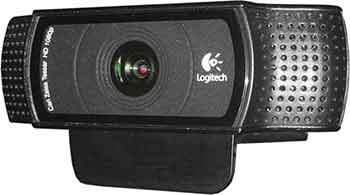 The Logitech C920 HD Pro webcam is an ideal starter choice for your DIY video studio