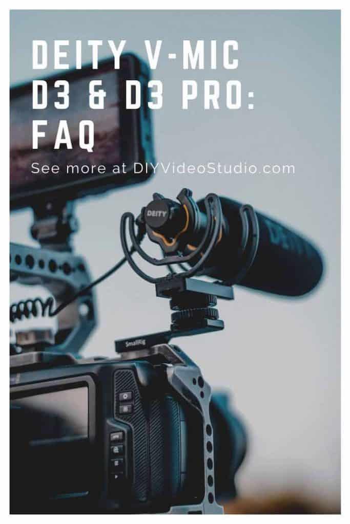 Deity V-Mic D3 & D3 Pro: A Brief FAQ - Pinterest image