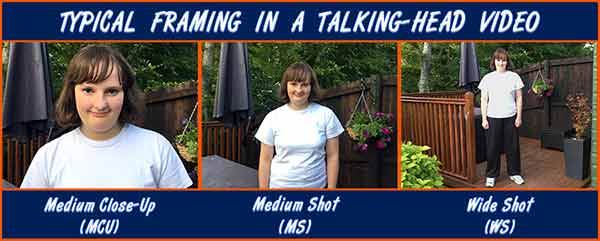 Making Talking Head Videos: All You Need to Know - Typical framing in a talking-head video