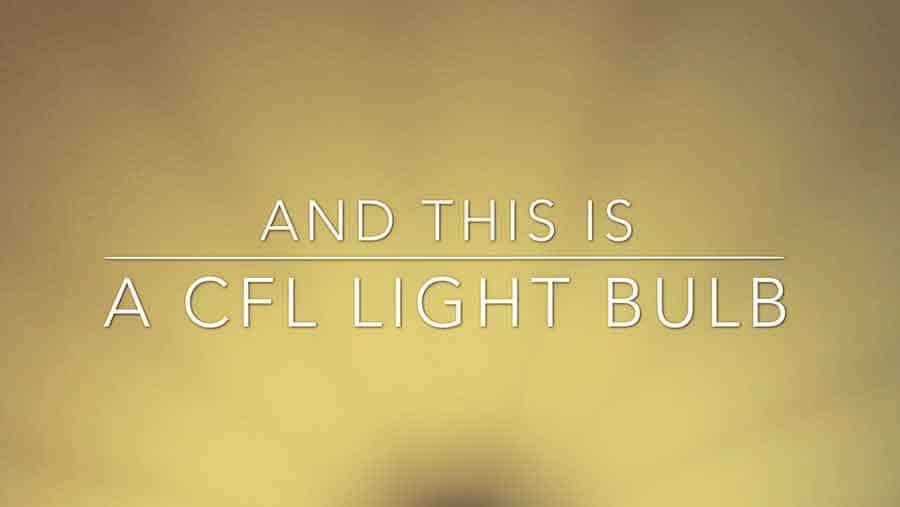 DIY Video Background CFL bulb 04