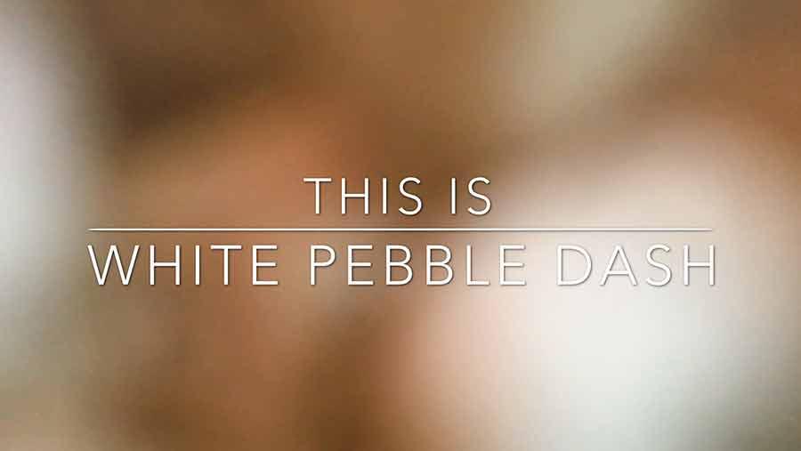 DIY Video Background Pebble Dash 03