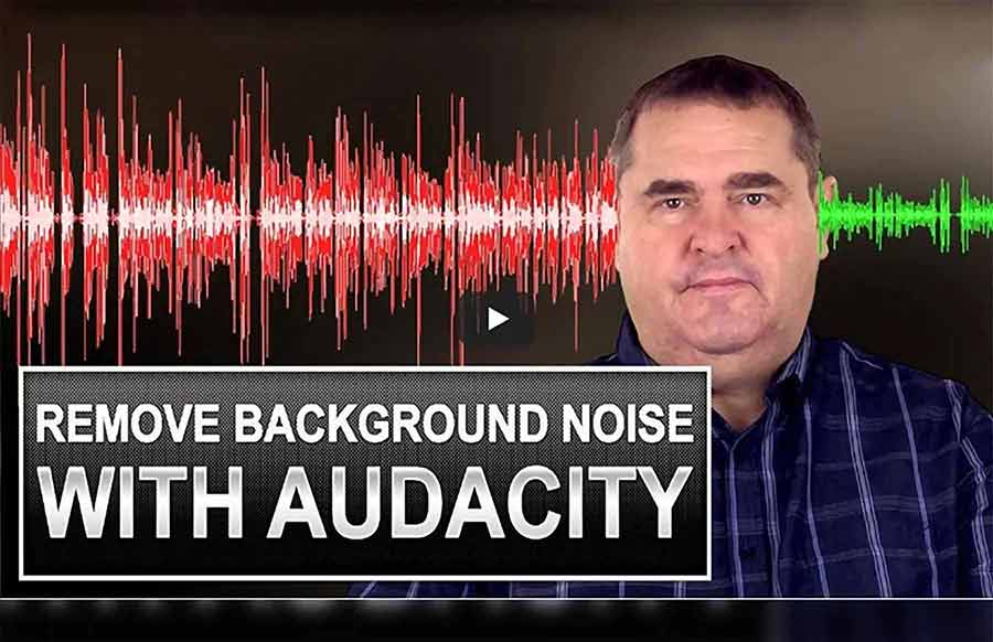 Remove background noise in audacity featured image