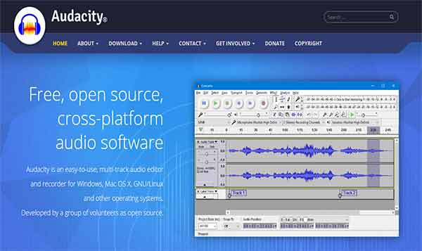 Remove background noise in audacity - download from audacityteam