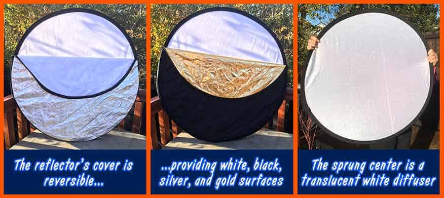 How to film in direct sunshine - Photographer's Reflector