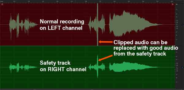 Safety Track audio example
