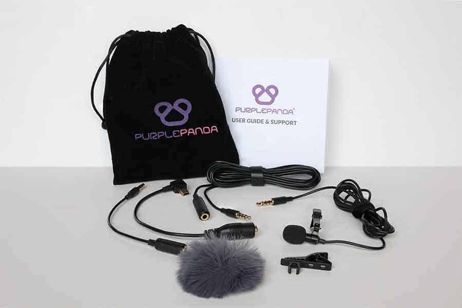 Purple-Panda-Lav-Mic-Kit
