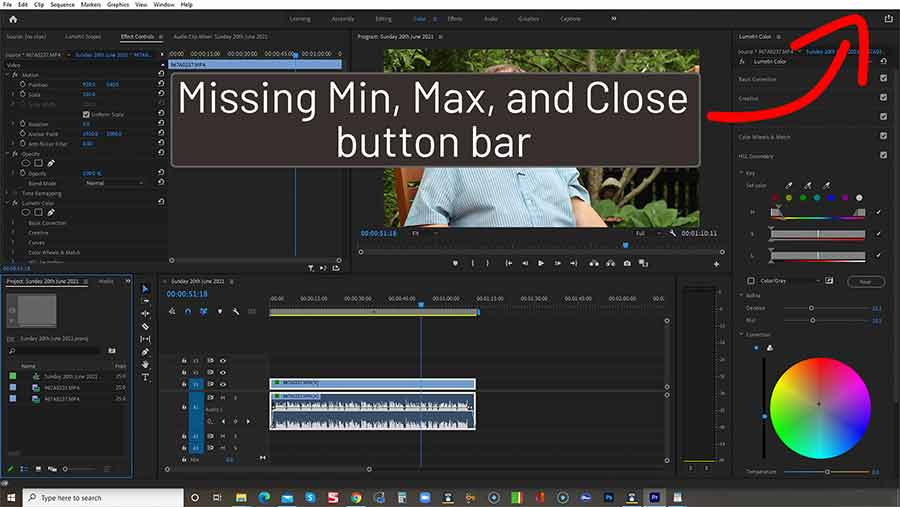 How-to-fix-Premiere-Pro-Missing-Min-Max-and-Close-Buttons
