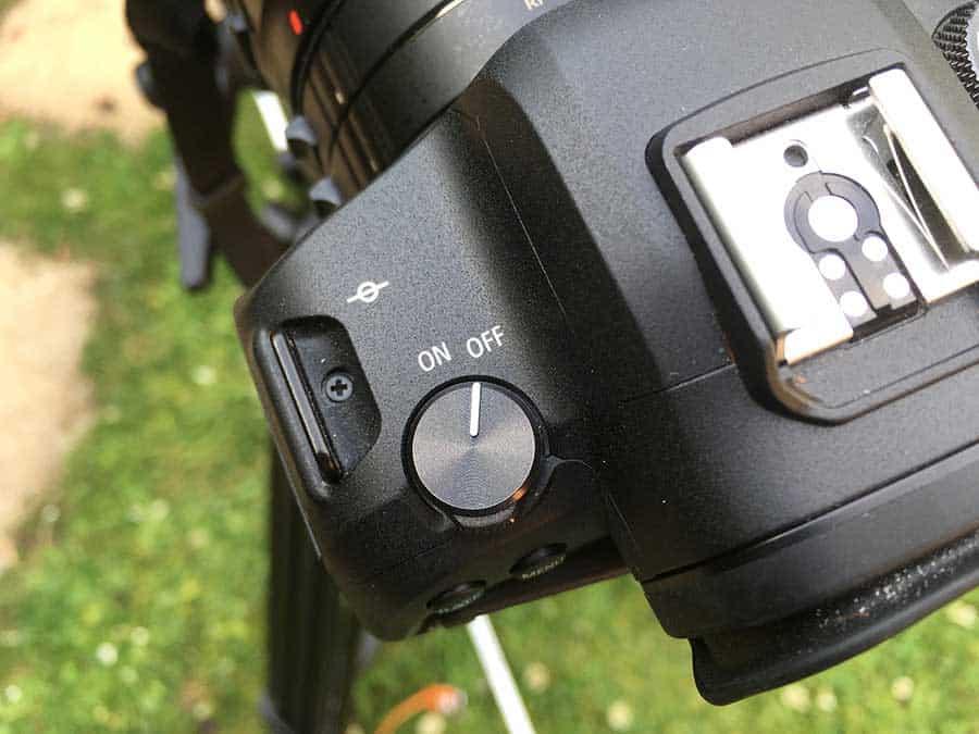 Focal-plane-on-camera